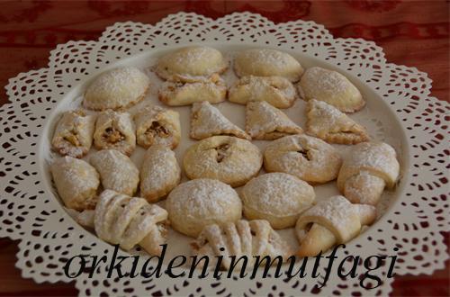 9 farklı elmalı kurabiye