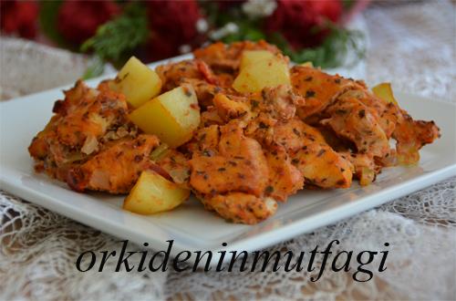 sebzeli tavuk patates