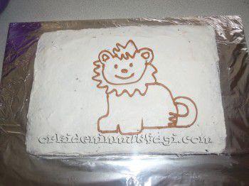Aslanlı galatasaray pasta