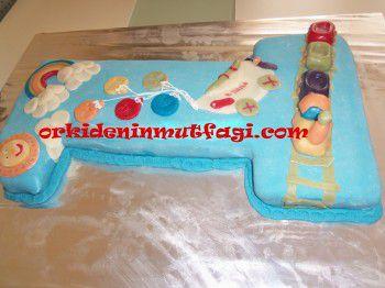 Bir Şeklinde Pasta Tarifi