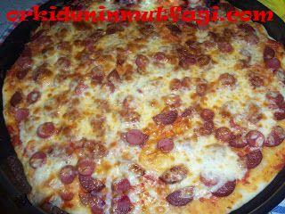 Ev yapımı kola pizza