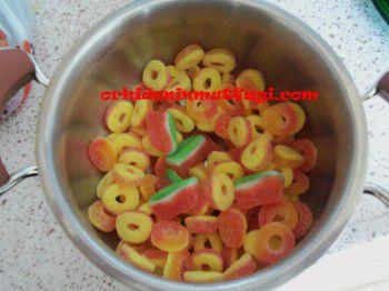 jelly bellyden şeker hamuru yapımı