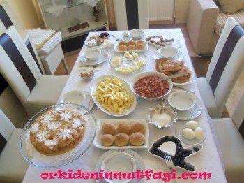 Kahvaltı masasI