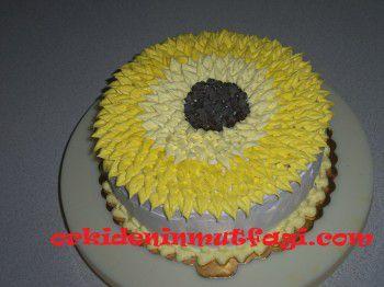 Ayçiçekli pasta tarifi