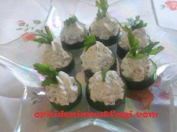 Salatalık üzeri haydari