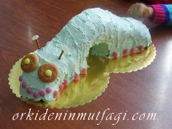 tırıtıl şeklinde pasta