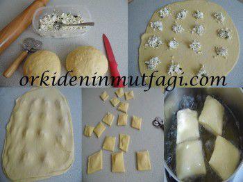 içi peynirli puf böreği