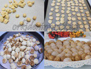 tarcınlı misket kurabiye