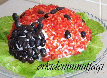 patatesten uğur böceği salatası