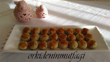 çörekotlu misket kurabiye